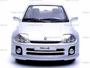 Инерционная машина Renault Clio Sport V6, KT5083W, отзывы