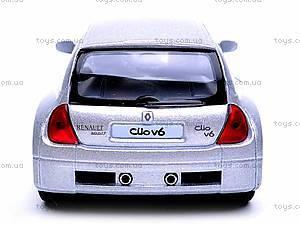 Инерционная машина Renault Clio Sport V6, KT5083W, цена
