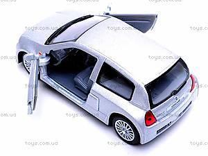 Инерционная машина Renault Clio Sport V6, KT5083W, игрушки