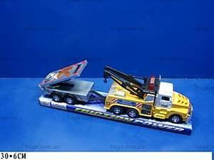 Инерционная машина, с прицепом, 919-03