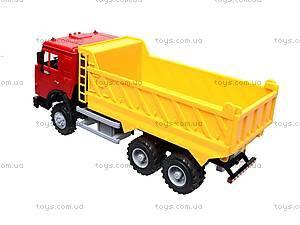 Инерционная машина «Самосвал» желтая, 9099-C, игрушки