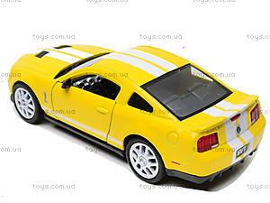 Инерционная машина Shelby GT500, KT5310W, магазин игрушек