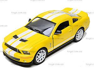 Инерционная машина Shelby GT500, KT5310W, toys