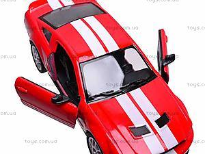 Инерционная машина Shelby GT500, KT5310W, отзывы