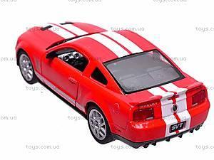 Инерционная машина Shelby GT500, KT5310W, детские игрушки