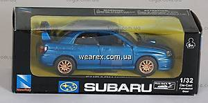 Инерционная машина Subaru Impreza WRX STi, 52363A