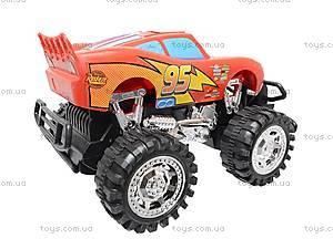 Инерционная машина «Тачки», с большими колесами, GT-14, цена