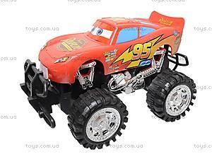 Инерционная машина «Тачки», с большими колесами, GT-14, игрушки