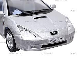 Инерционная машина Toyota Celica, KT5038W, игрушки