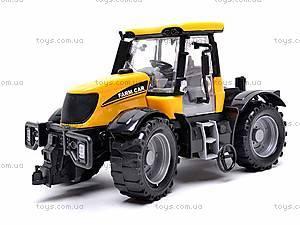 Инерционная машина «Трактор», 1066A, игрушки