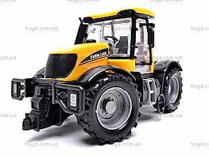 Инерционная машина «Трактор», 1066A, детские игрушки
