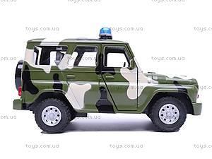 Инерционная машина УАЗ «Армейский» , 9076-C, игрушки