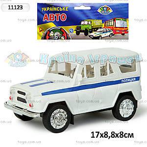 Инерционная машина УАЗ «Милиция», 11123