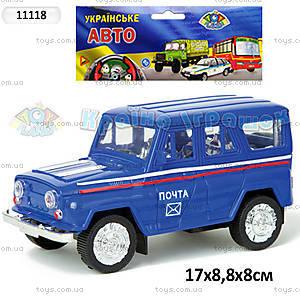Инерционная машина УАЗ «Почта», 11118