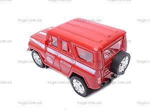 Инерционная машина УАЗ «Пожарная» , 11117, фото