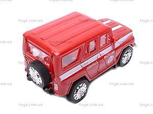 Инерционная машина УАЗ «Пожарная» , 11117, отзывы