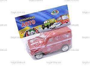 Инерционная машина УАЗ «Пожарная» , 11117, цена
