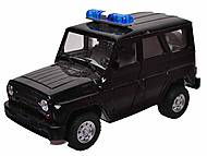 Инерционная машина УАЗ «Полиция» , 9076-A, оптом