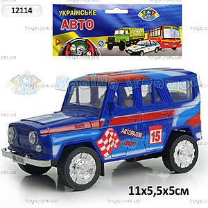Инерционная машина УАЗ «Спорт», 12114