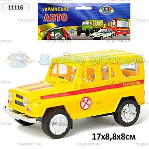 Инерционная машина УАЗ «Техпомощь», 11116