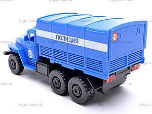 Инерционная машина Урал «Милиция», 36117, фото