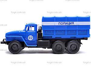 Инерционная машина Урал «Милиция», 36117, цена
