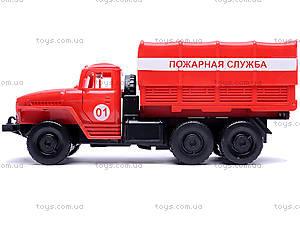 Инерционная машина Урал «Пожарная», 36116, купить