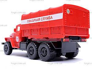 Инерционная машина Урал «Пожарная», 36116, фото