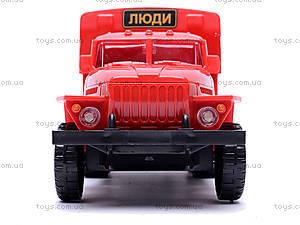 Инерционная машина Урал «Пожарная», 36116, отзывы