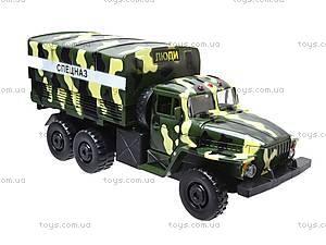 Инерционная машина Урал «Спецназ», 36120, игрушки