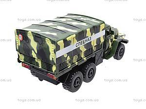 Инерционная машина Урал «Спецназ», 36120, детские игрушки