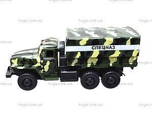 Инерционная машина Урал «Спецназ», 36120, магазин игрушек