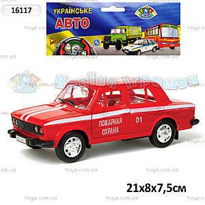 Инерционная машина ВАЗ-2106 «Пожарная охрана», 16117