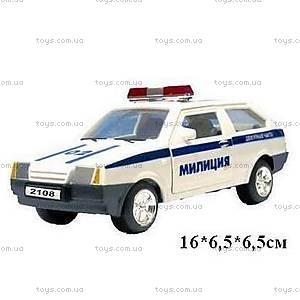 Инерционная машина ВАЗ-2108 «Милиция», 5112