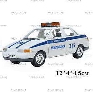 Инерционная машина ВАЗ-2110 «Милиция», 4112