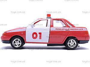Инерционная машина ВАЗ-2110 «Пожарная», 4111, купить