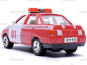 Инерционная машина ВАЗ-2110 «Пожарная», 4111, фото