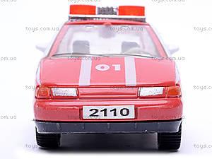 Инерционная машина ВАЗ-2110 «Пожарная», 4111, отзывы
