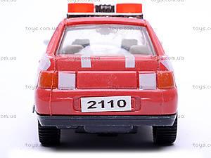 Инерционная машина ВАЗ-2110 «Пожарная», 4111, цена