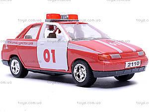 Инерционная машина ВАЗ-2110 «Пожарная», 4111