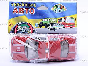 Инерционная машина ВАЗ-2110 «Пожарная», 4111, игрушки