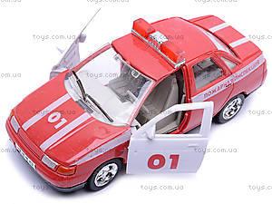 Инерционная машина ВАЗ-2110 «Пожарная», 4111, детские игрушки