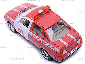 Инерционная машина ВАЗ-2110 «Пожарная», 4111, магазин игрушек