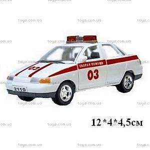 Инерционная машина ВАЗ-2110 «Скорая помощь», 4113