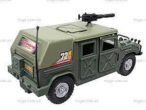 Инерционная машина «Военный джип», 4918B05, игрушки