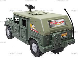 Инерционная машина «Военный джип», 4918B05, детские игрушки