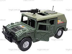 Инерционная машина «Военный джип», 4918B05, магазин игрушек