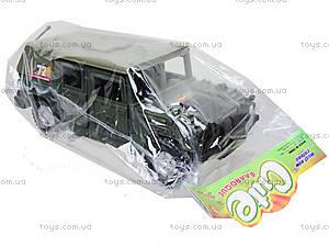 Инерционная машина «Военный джип», 4918B05, toys.com.ua