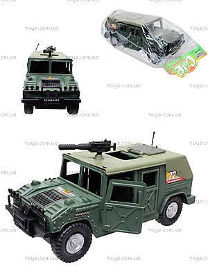 Инерционная машина «Военный джип», 4918B05