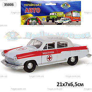 Инерционная машина Волга 2100 «Скорая помощь», 35003